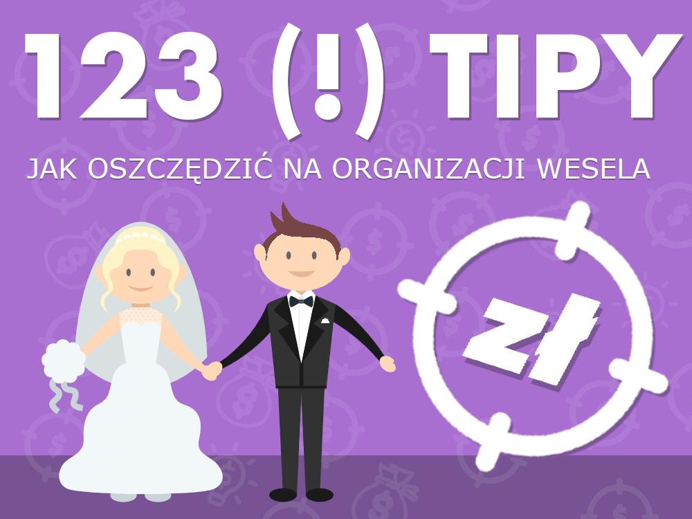 jak oszczędzić na organizacji wesela