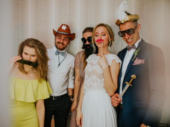 atrakcje na wesele lublin fotobudka